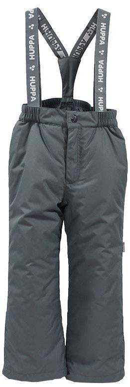 Брюки утепленные детские Huppa Freja, цвет: серый. 21700016-70048. Размер 158 брюки утепленные детские huppa freja 1 цвет темно синий 21700116 00086 размер 170