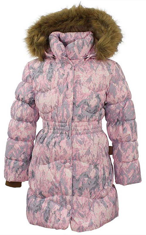 Пальто для девочки Huppa Beata 1, цвет: cветло-розовый. 17930155-73203. Размер 12817930155-73203Стильное пальто для девочки Huppa идеально подойдет для ребенка в прохладное время года. Модель изготовлена из полиэстера.Пальто с капюшоном и небольшим воротником-стойкой застегивается на застежку-молнию и кнопки. Капюшон оформлен мехом. Низ рукавов дополнен эластичными манжетами, не стягивающими запястья.Такое стильное пальто станет прекрасным дополнением гардеробу вашей девочки, оно подарит комфорт и тепло.