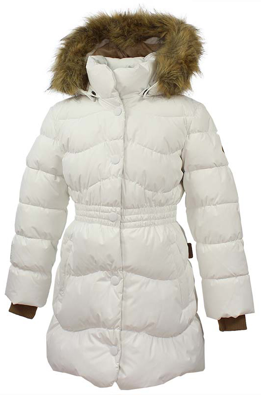Пальто для девочки Huppa Beata 1, цвет: белый. 17930155-70020. Размер 134 пальто huppa пальто yasmine