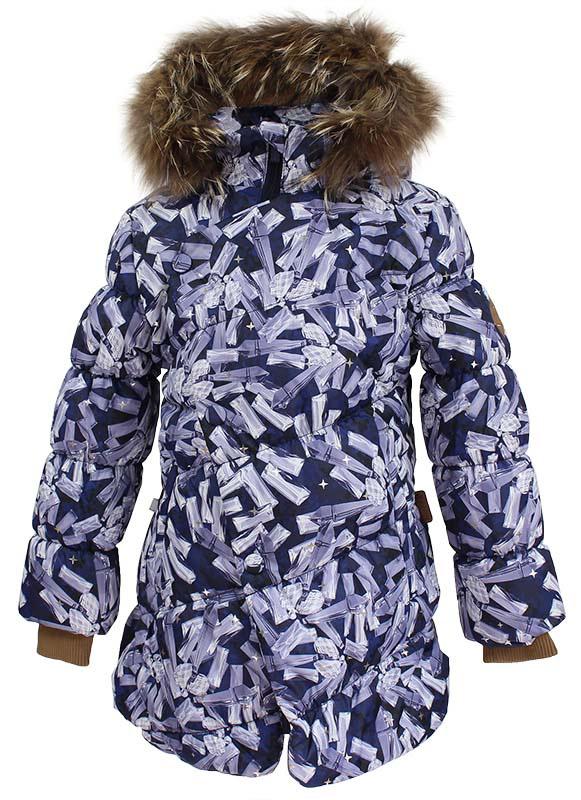 Куртка для девочки Huppa Rosa 1, цвет: черный. 17910130-71409. Размер 15217910130-71409Теплая куртка для девочки Huppa идеально подойдет для ребенка в холодное время года. Куртка изготовлена из 100% полиэстера. Вес утеплителя - 300 г.Куртка с капюшоном застегивается на пластиковую застежку-молнию и кнопки. Капюшон, декорированный мехом, защитит нежные щечки от ветра. Предусмотрены светоотражающие элементы для безопасности ребенка в темное время суток.