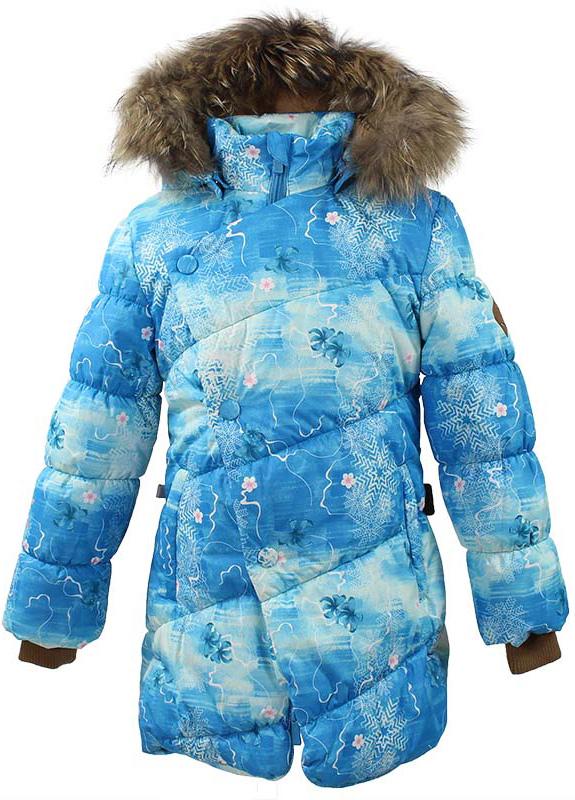 Куртка для девочки Huppa Rosa 1, цвет: голубой. 17910130-71346. Размер 14617910130-71346Теплая куртка для девочки Huppa идеально подойдет для ребенка в холодное время года. Куртка изготовлена из 100% полиэстера. Вес утеплителя - 300 г.Куртка с капюшоном застегивается на пластиковую застежку-молнию и кнопки. Капюшон, декорированный мехом, защитит нежные щечки от ветра. Предусмотрены светоотражающие элементы для безопасности ребенка в темное время суток.