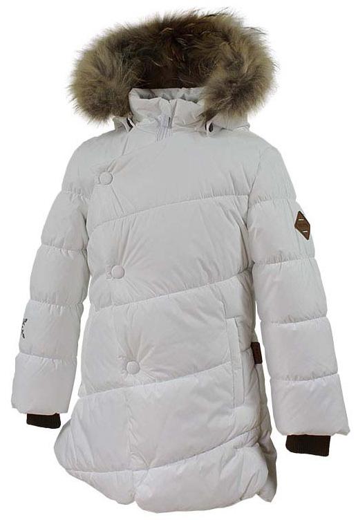 Куртка для девочки Huppa Rosa 1, цвет: белый. 17910130-70020. Размер 13417910130-70020Теплая куртка для девочки Huppa идеально подойдет для ребенка в холодное время года. Куртка изготовлена из 100% полиэстера. Вес утеплителя - 300 г.Куртка с капюшоном застегивается на пластиковую застежку-молнию и кнопки. Капюшон, декорированный мехом, защитит нежные щечки от ветра. Предусмотрены светоотражающие элементы для безопасности ребенка в темное время суток.
