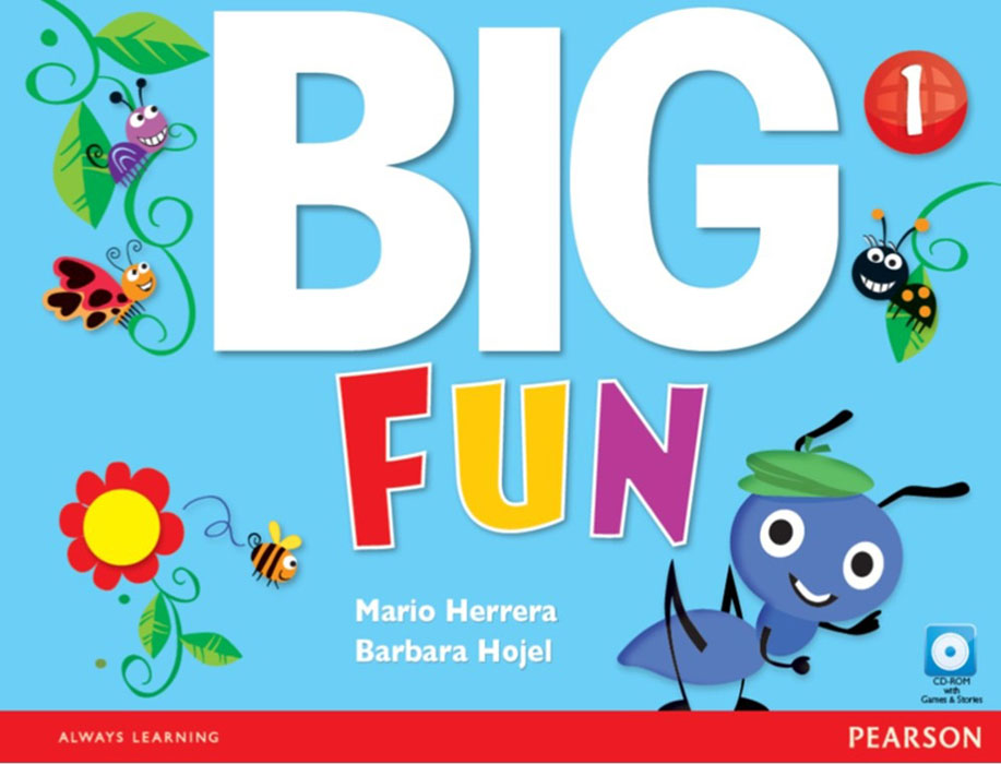 Big Fun 1 Student Book with CD-ROM visual basic课程设计(附cd rom光盘1张)