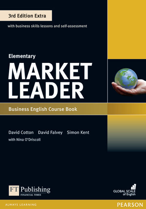 Market Leader 3rd Edition Extra Elementary Coursebook and MyEnglishLab Pin Pack cotton d market leader business english active teach elementary cd rom a1 a2 3rd edition