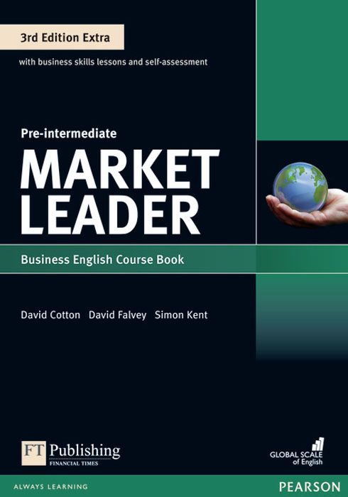 Market Leader 3rd Edition Extra Pre-Intermediate Coursebook and MyEnglishLab Pin Pack