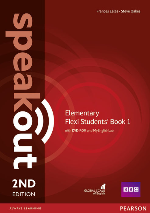 Фото - Speakout Elementary Flexi Students' Book 1 with MyEnglishLab Pack speakout starter student s book with dvd myenglishlab 2ed