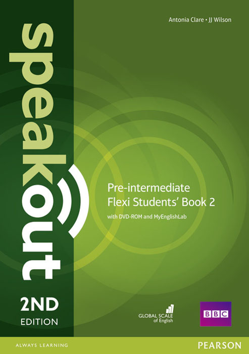 Speakout Pre-Intermediate Flexi Students' Book 2 with MyEnglishLab Pack antonia clare jj wilson speakout intermediate student s book with dvd 2ed