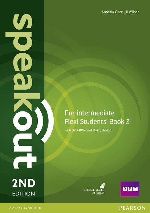 Speakout Pre-Intermediate Flexi Students' Book 2 with MyEnglishLab Pack evans v dooley j enterprise plus grammar pre intermediate