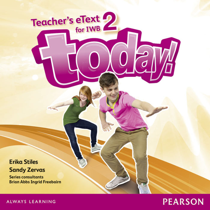 Today! 2 Teacher's eText IWB CD-Rom today students book 2