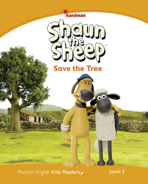 Shaun the Sheep Save the Tree Reader: Level 3 creative simple big tree and letter pattern home decoration decorative wall stickers