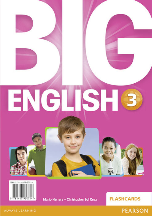 Big English 3 Flashcards english world 2 flashcards набор из 140 карточек