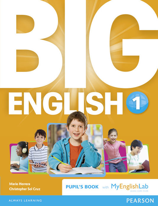 Big English 1: Pupil's Book and MyLab Pack bridge to english for kids read english выпуск 1