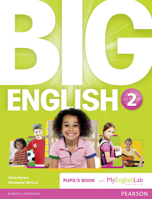 Big English 2 Pupil's Book and MyLab Pack bowen m way ahead 6 pupils book cd rom pack
