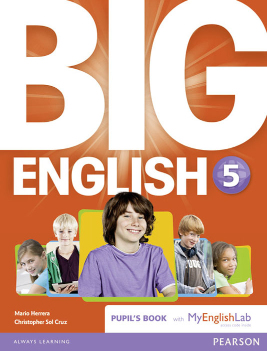 Big English 5 Pupil's Book and MyLab Pack bowen m way ahead 6 pupils book cd rom pack