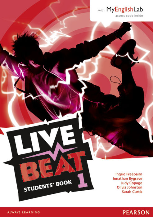 Live Beat 1 Students' Book & MyEnglishLab Pack
