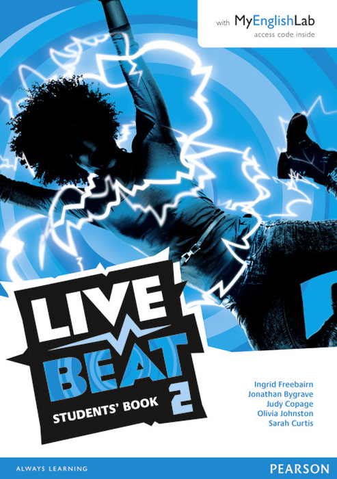 Live Beat 2 Students' Book & MyEnglishLab Pack