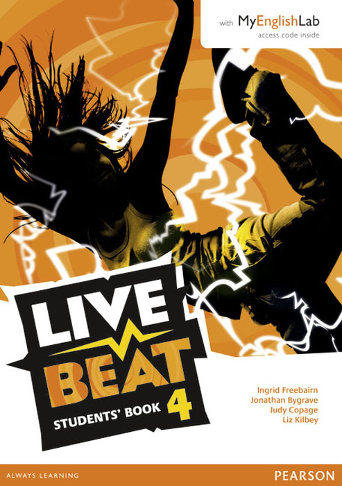 Live Beat 4 Students' Book & MyEnglishLab Pack