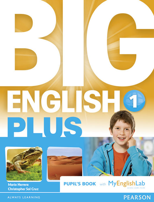 Big English Plus 1 Pupil's Book with Myenglishlab Access Code Pack женская рубашка european and american big c002617 2015