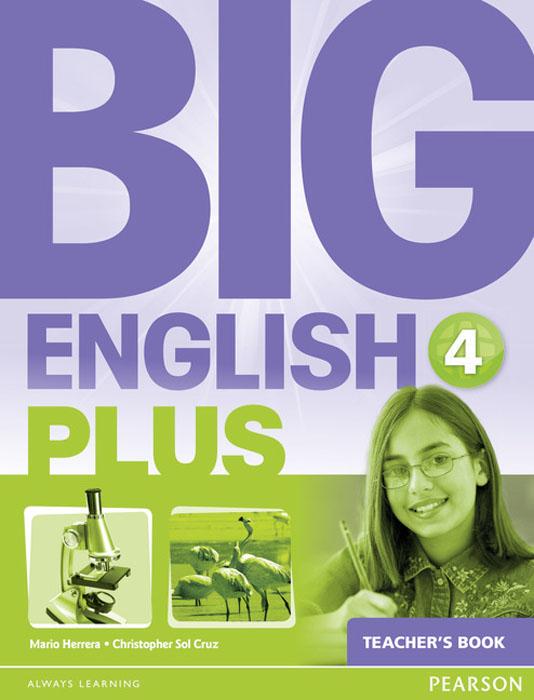 Big English Plus 4 Teacher's Book женская рубашка european and american big c002617 2015
