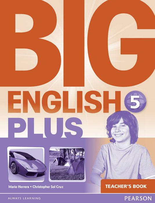 Big English Plus 5 Teacher's Book женская рубашка european and american big c002617 2015