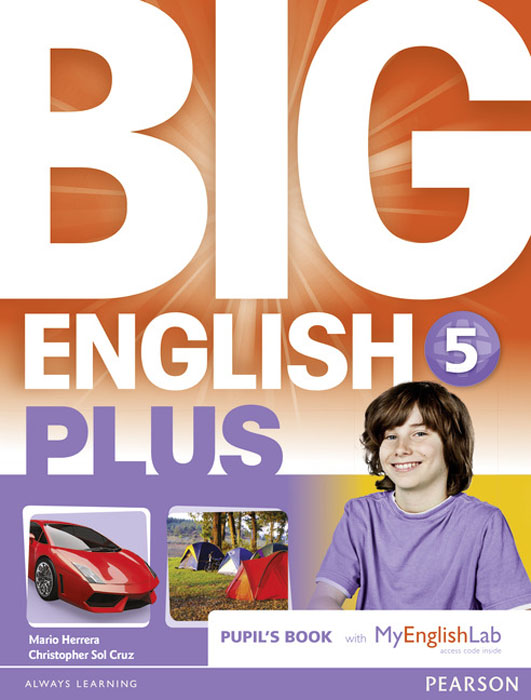 Big English Plus 5 Pupil's Book with Myenglishlab Access Code Pack mastering english prepositions