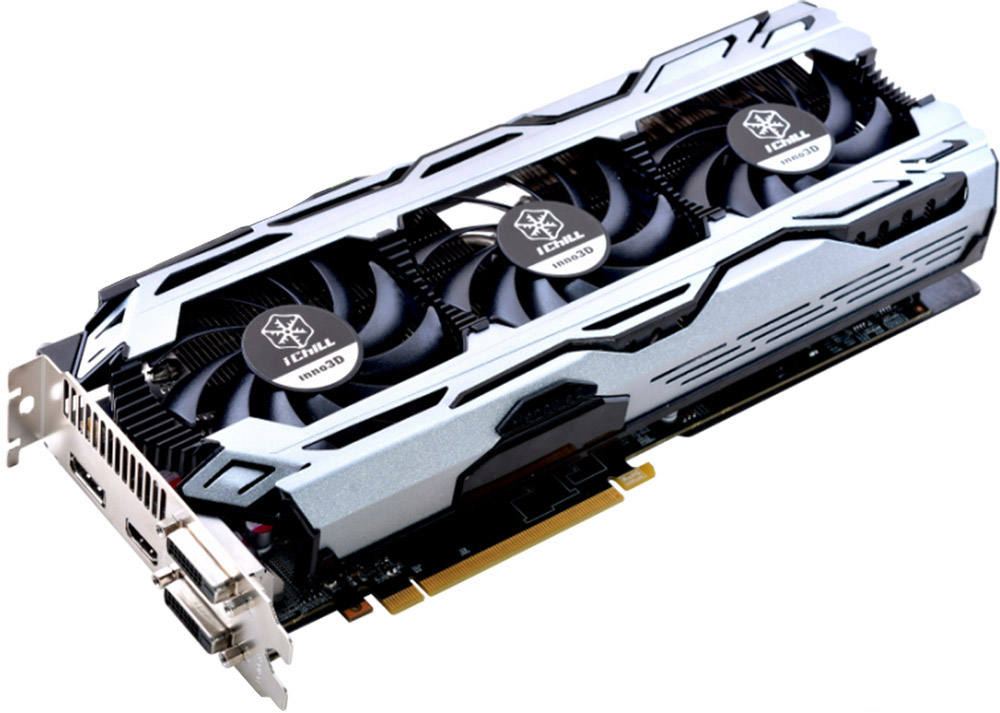 Inno3D GeForce GTX 1060 iChill X3 V2 6Gb видеокарта (C106F2-3SDN-N5GSX) - Комплектующие для компьютера