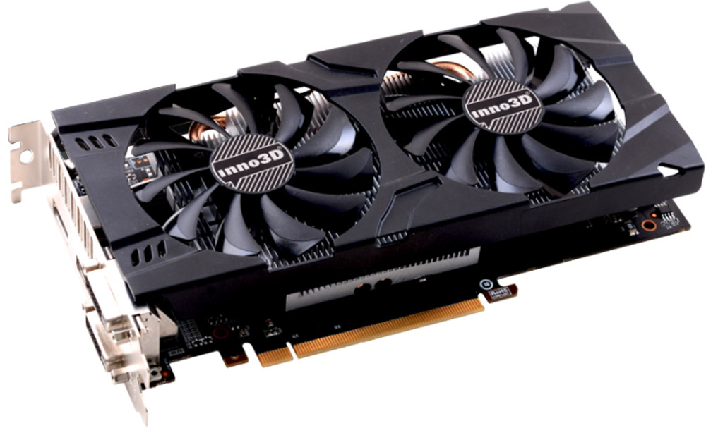 Inno3D GeForce GTX 1060 X2 6GB видеокарта видеокарта 6144mb msi geforce gtx 1060 gaming x 6g pci e 192bit gddr5 dvi hdmi dp hdcp retail