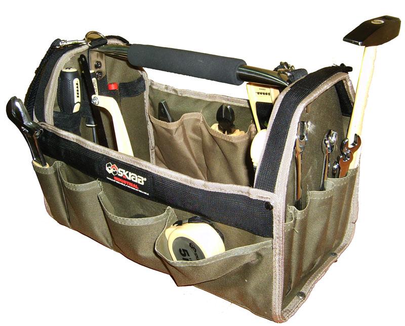 Набор для дома и сада Skrab, 18 предметов42604Набор для дома и сада 18 предметов.Удобная сумка-ящик в комплекте.