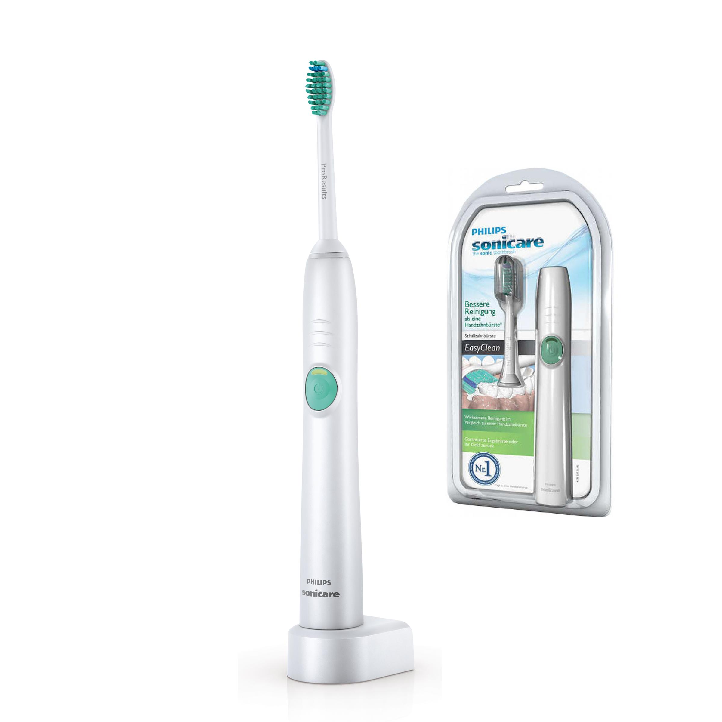 Philips EasyClean HX6511/02 звуковая зубная щеткаHX6511/02№1 бренд звуковых зубных щеток рекомендуемый стоматологами всего мира. На основании опроса более 4500 зубных врачей, Приоритиз Ресерч, 2012. Более 20лет клинических исследований Sonicare.Ирригационный эффект технологии Sonicare способствует более качественному удалению зубного налета из труднодоступных участков полости рта и вдоль линии десен. Удаляет в 2 раза больше налета по сравнению с обычной зубной щеткой. Осветляет зубы до 2 тонов. В комплекте 1 насадка ProResults (жесткость средняя).Таймер с 30-секундным интервалом сообщает об окончании чистки каждого квадранта полости рта.Подает сигнал для перехода к следующему, в результате чего чистка выполняется более тщательно. Эта функция постепенно, в течение первых 14 чисток, увеличивает интенсивность чистки, облегчая привыкание к использованию электрической зубной щетки Philips Sonicare HX6511/02. Подходит для использования при наличии пломб, коронок, брекетов и других ортодонтических конструкций. Функция Отбеливание эффективно удалить налет и потемнения с поверхности эмали, чтобы ваша улыбка всегда оставалась белоснежной.