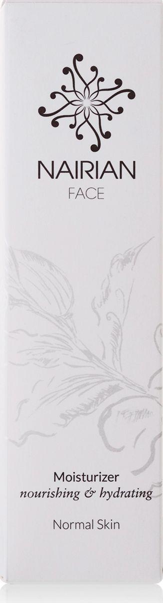 Nairian Увлажняющий крем, для нормальной кожи, 50 млT0052Смесь масла сладкого миндаля, розовой воды и очищающего эфирного масла лимонной цедры делает этот мягкий увлажняющий крем настоящей амброзией, ухаживающей за кожей. Деликатная формула помогает глубоко увлажнить её, при этом увеличивая эластичность и регулируя уровень жирности.