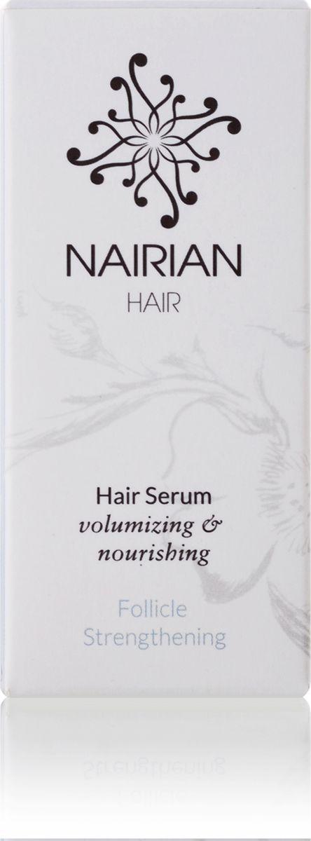 Nairian Укрепляющий серум для волос, 15 млSEHFS-01-0015Чтобы волосы выглядели ухоженными и имели красивый блеск, им нужно уделять много внимания. Сыворотка от Nairian поможет в этом, защищая волосы от сухости и ломкости, укрепляя их и борясь с перхотью. Масла жожоба, шиповника, облепиховое и гранатовое обеспечивают луковицы элементами, необходимыми для здорового роста, добавляют блеск и объем.