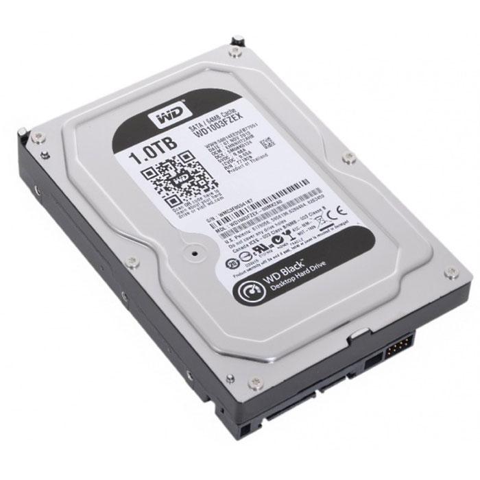 WD Black 1TB внутренний жесткий диск (WD1003FZEX)WD1003FZEXНакопители WD Black предназначены для настольных ПК и рассчитаны на опытных пользователей, которым нужно высокое быстродействие. Накопители WD Black станут незаменимыми помощниками для каждого творческого человека - фотографа, режиссера видеомонтажа, художника компьютерной графики или пользователя, желающего создать собственную систему. Благодаря беспрецедентному быстродействию они прекрасно подходят для хранения больших мультимедийных файлов (фотоснимков, видео или приложений). Эти жесткие диски специально для ресурсоемких задач и превосходно подходят для игр. Они такие емкие, что на них с легкостью поместится вся игровая библиотека и даже останется место для ее пополнения. Этот накопитель обеспечит вашему игровому ПК достаточно емкости для загрузки дополнительного игрового контента и максимальное быстродействие за счет твердотельного компонента, так что у вас еще не скоро возникнет потребность в его модернизации. На каждый диск WD Black предоставляется 5-летняя ограниченная гарантия с лучшими в отрасли условиями. По сравнению с другими жесткими дисками накопители WD Black проходят более тщательные и строгие внутренние испытания в течение более длительного периода времени.Поскольку в накопителе WD Black применяется двухъядерный процессор, его вычислительная мощность вдвое больше, чем у моделей со стандартным одноядерным процессором. Это обеспечивает максимальное быстродействие, что особенно важно при загрузке игр и больших мультимедийных файлов.Буфер HDD: 64 МбМаксимальные перегрузки: 30G длительностью 2 мс при работе (чтение), 65G длительностью 2 мс при чтении/записи; 350G длительностью 2 мс в выключенном состоянии