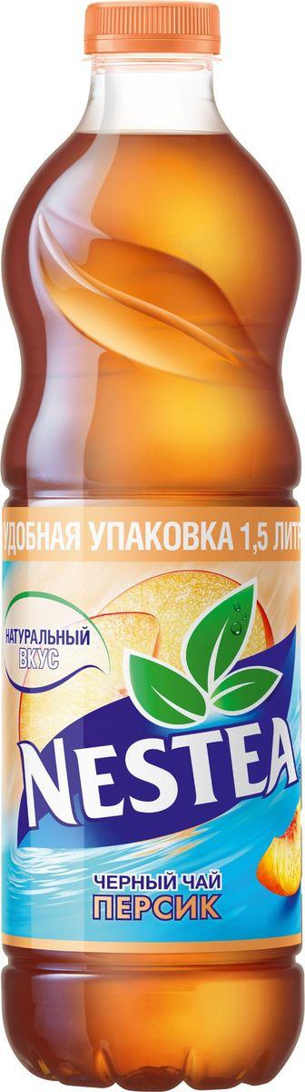 Nestea Персик чай черный, 1,5 л ударница мармелад со вкусом персика 325 г