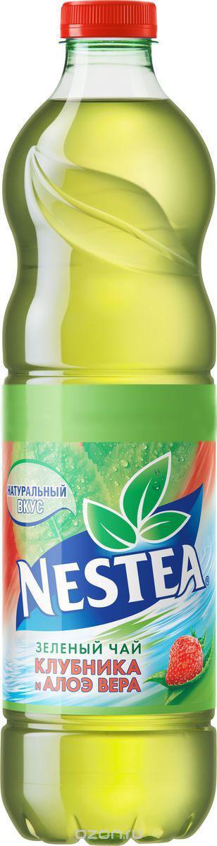 Nestea Клубника и алоэ вера зеленый чай, 1.5 л5449000156310