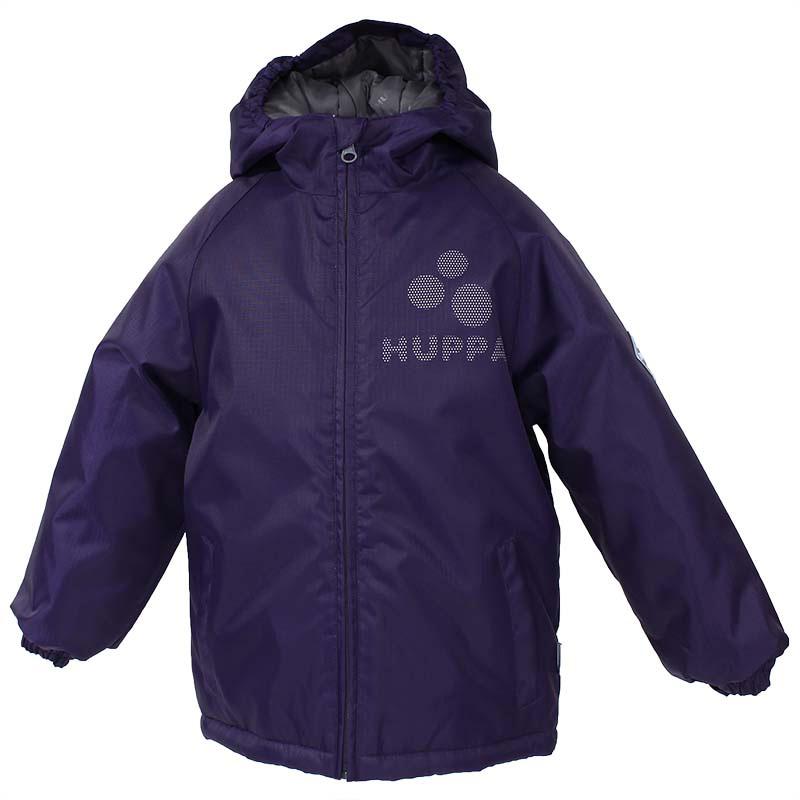 Куртка детская Huppa Classy2, цвет: темно-лиловый. 17710030-053. Размер 14017710030-053Детская куртка Huppa изготовлена из водонепроницаемого полиэстера. Куртка с капюшоном застегивается на пластиковую застежку-молнию с защитой подбородка. Края капюшона и рукавов собраны на внутренние резинки. У модели имеются два врезных кармана. Изделие дополнено светоотражающими элементами.
