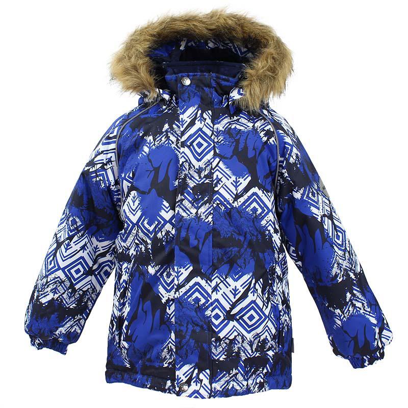 Куртка детская Huppa Marinel, цвет: темно-синий. 17200030-73486. Размер 12217200030-73486Детская куртка Huppa изготовлена из водонепроницаемого полиэстера. Куртка застегивается на застежку-молнию и кнопки. Модель дополнена отстегивающимся капюшоном с мехом. Края рукавов собраны на внутренние резинки. У модели имеются два врезных кармана. Изделие дополнено светоотражающими элементами.