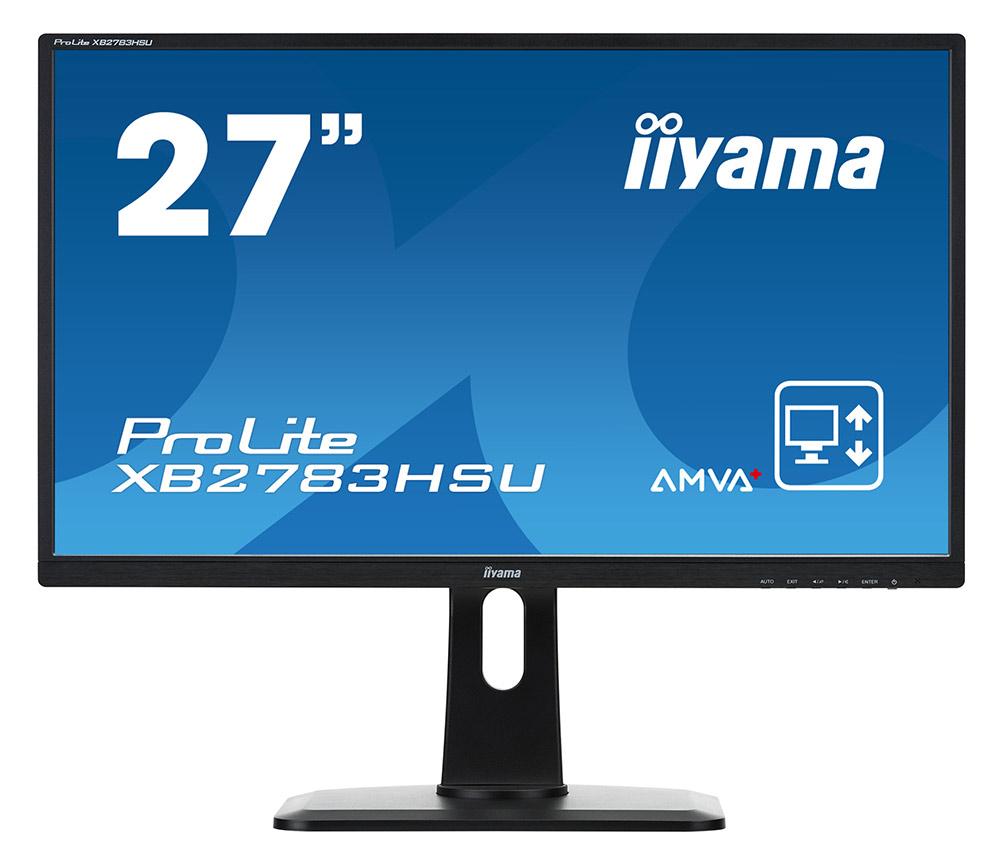 iiyama ProLite XB2783HSU-B1, Black монитор - Мониторы
