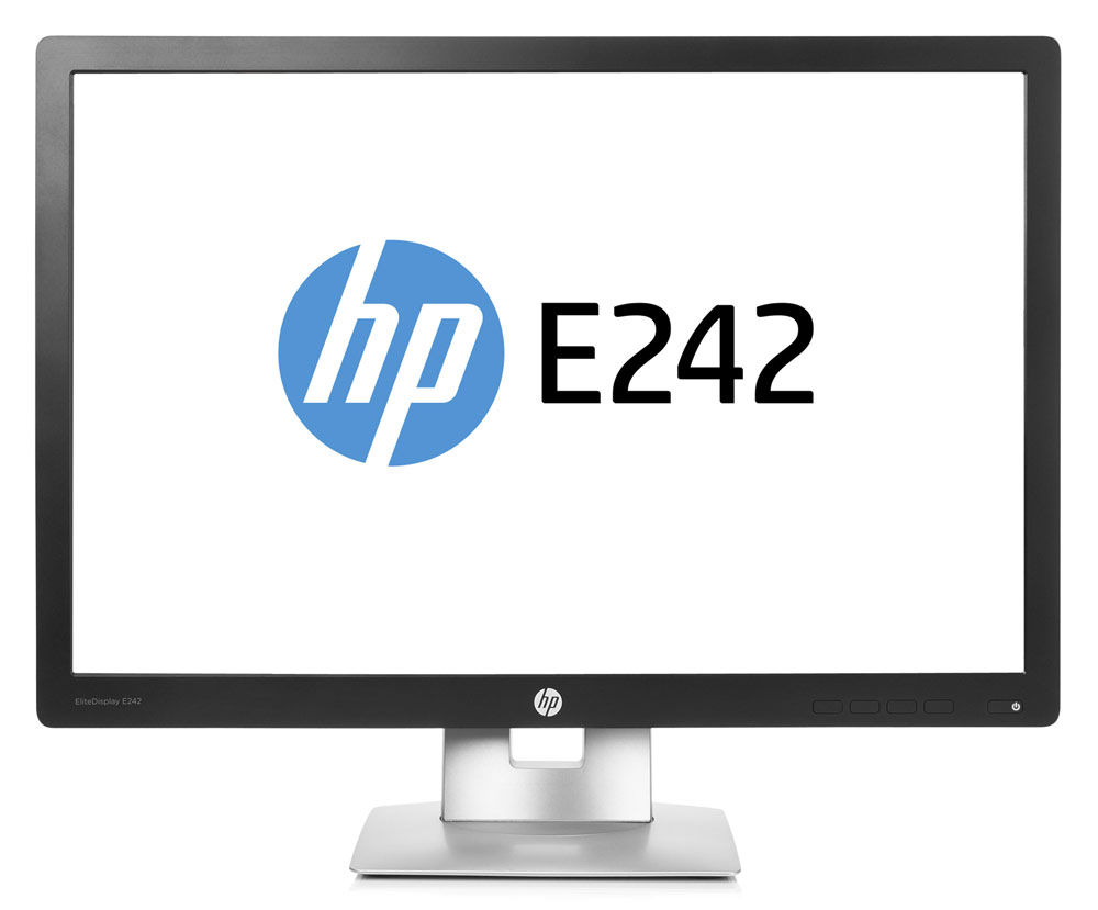 HP EliteDisplay E242e, White мониторN3C01AAМонитор HP 24 EliteDisplay E242e белый IPS LED 16:10 HDMI DisplayPort Mat HAS Pivot 250cd USB