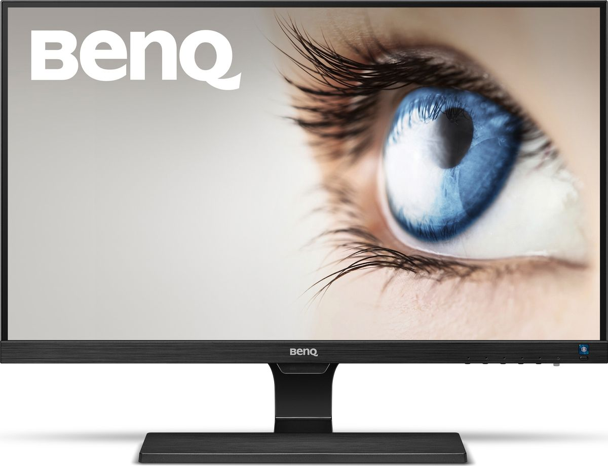 BenQ EW2775ZH, Black монитор9H.LEELB.QBEColor: Glossy Black; Size: 27W; Resolution: 1920x1080; Display Area(mm): 597.6x336.2; Brightness ( typ.): 250 nits; Contrast ( typ. ): 3000:1(DCR: 20M:1); Viewing angle (L/R;U/D) (CR>=10): 178/178; Response time(Tr+Tf) typ.: 12ms (GtG 4ms); MPRT (Motion Picture Response time): No; Display Colors: 16.7million; Color Gamut: 72%; Input connector: D-sub/HDMI*2; Power consumption (On mode): 42W; Power saving mode: <0.5W; AMA: Yes; PerfectMotion: No; Win8: Yes; HDCP: Yes; Speaker: 2W*2; VESA Wall Mounting: No; Signal cable: HDMI; Others: No; TCO 6.0, Flicker-free, Low Blue Light Plus, Brightness Intelligence