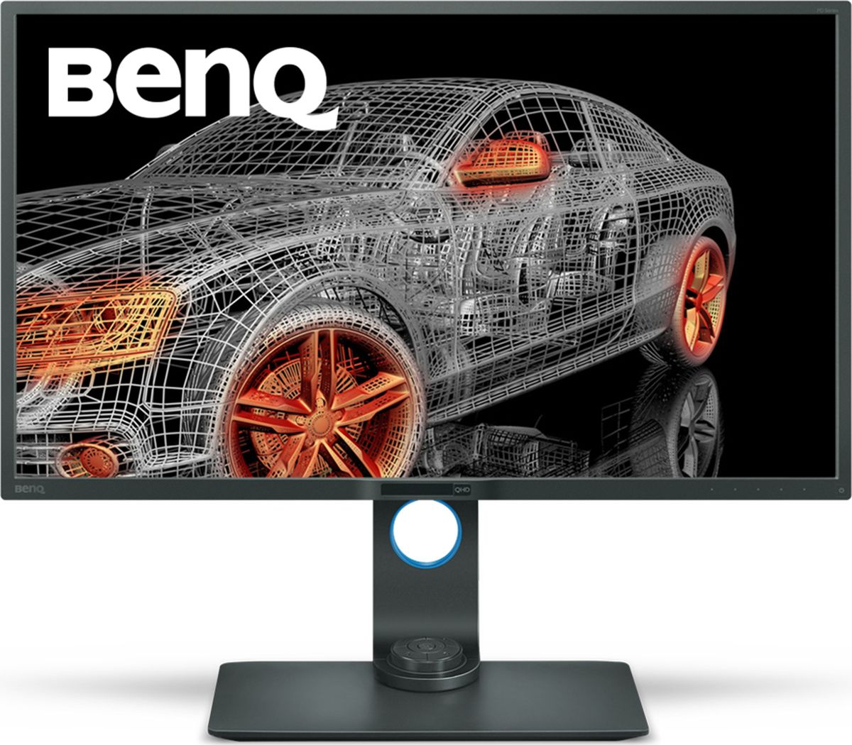 BenQ PD3200Q, Grey монитор9H.LFALA.TBEColor: Glossy Black; Size: 32W; Resolution: 2560x1440; Display Area(mm): 708.4x398.5; Brightness ( typ.): 300 nits; Contrast ( typ. ): 3000:1(DCR: 20M:1); Viewing angle (L/R;U/D) (CR>=10): 178/178; Response time(GtG): 4ms; MPRT (Motion Picture Response time): No; Display Colors: 16.7million; Color Gamut: 100% sRGB; Input connector: D-sub/DVI/HDMI/DP/USB 2.0x2 3.0x2; Power consumption (On mode): 97W; Power saving mode: 0.5W; Senseye: Senseye3; AMA: Yes; PerfectMotion: No; Win8: Yes; HDCP: Yes; Speaker: 5Wx2; VESA Wall Mounting: 100x100mm; Signal cable: VGA, DVI, DP, HDMI, USB 3.0; Others: No; TCO 7.0; AMVA+ Panel; LED Backlight; Height adjustment, Flicker-free, Low blue light, DualView, Darkroom mode, KVM, Technicolor