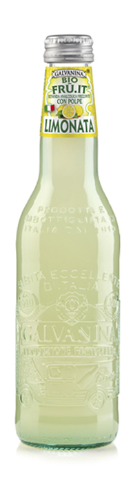 Galvanina BIO Limonata напиток лимон, 355 мл ростагроэкспорт желе ананас 125 г