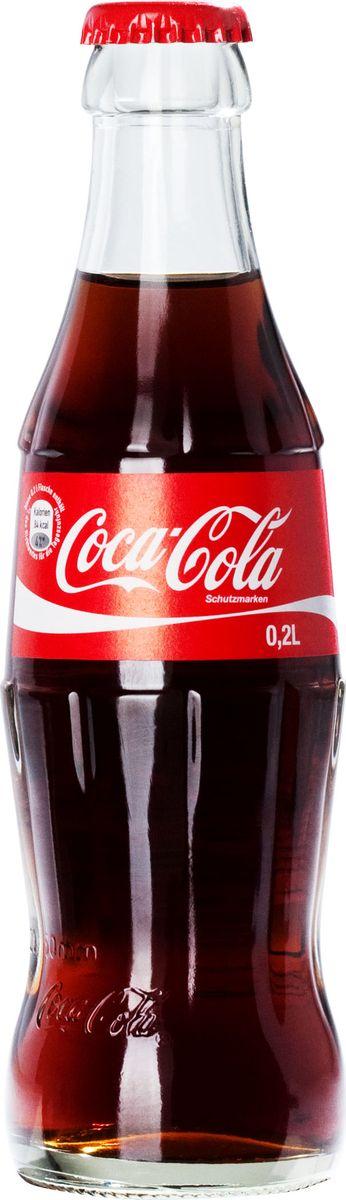 Coca-Cola напиток газированный, 200 мл напиток fanta апельсин газированный
