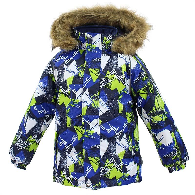 Куртка детская Huppa Marinel, цвет: синий. 17200030-72535. Размер 11617200030-72535Детская куртка Huppa изготовлена из водонепроницаемого полиэстера. Куртказастегивается на застежку-молнию и кнопки. Модель дополнена отстегивающимся капюшоном с мехом. Края рукавов собраны на внутренние резинки. У модели имеются два врезных кармана. Изделие дополнено светоотражающими элементами.
