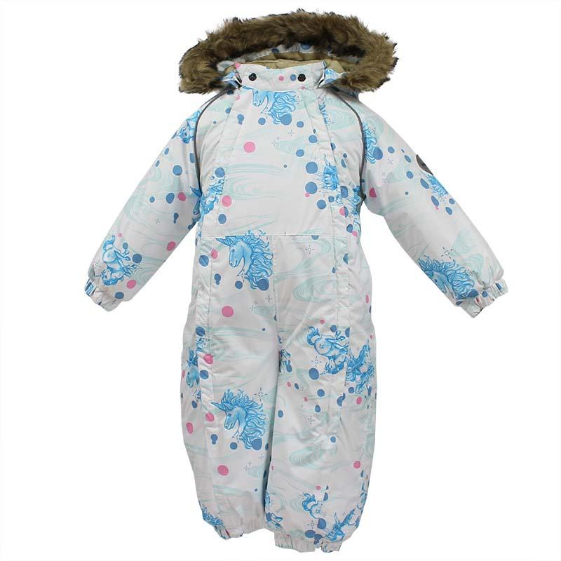 Комбинезон утепленный детский Huppa Keira, цвет: белый. 31920030-71120. Размер 86