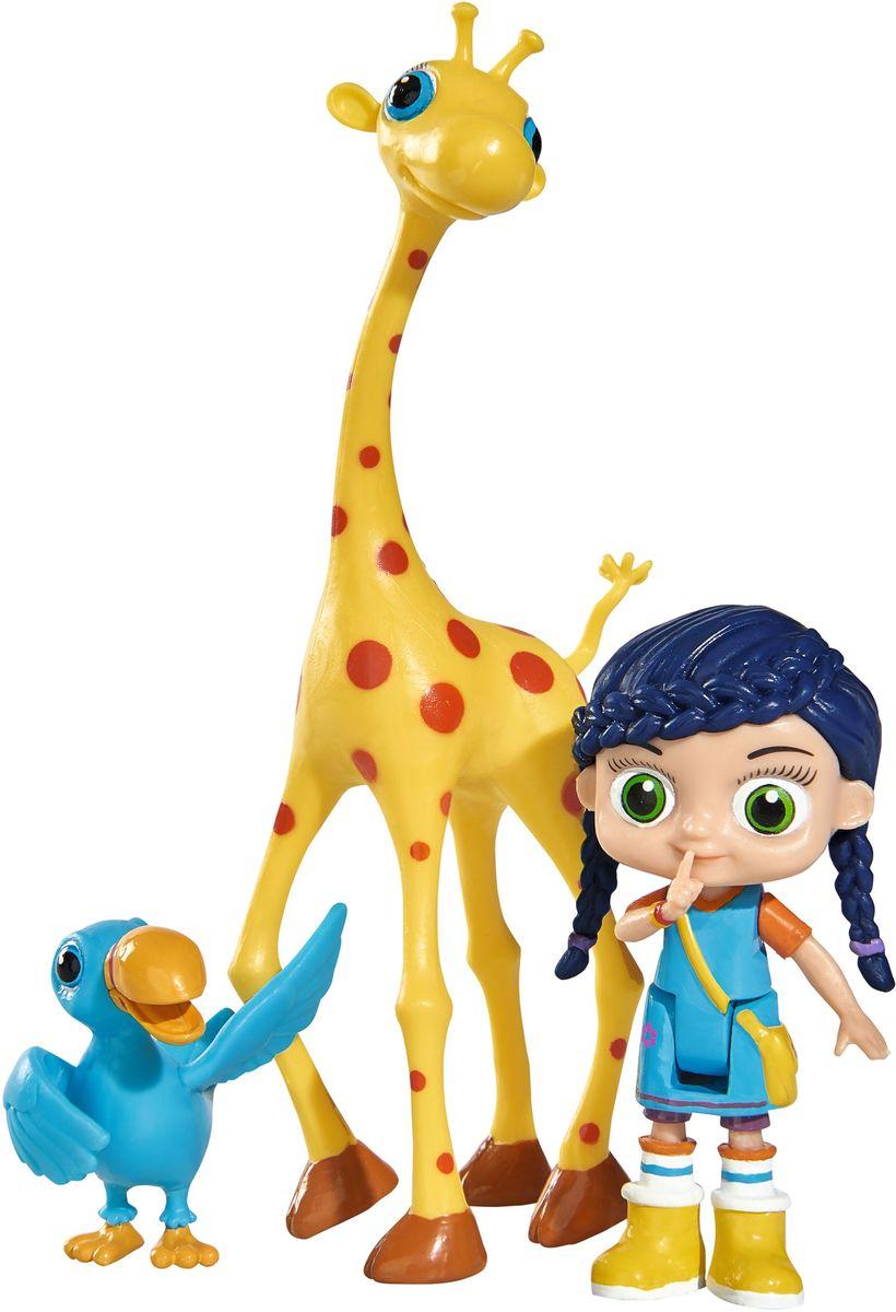 Simba Набор фигурок Висспер Герти и Отис автотрек dickie simba 3083077 спайдер мэн