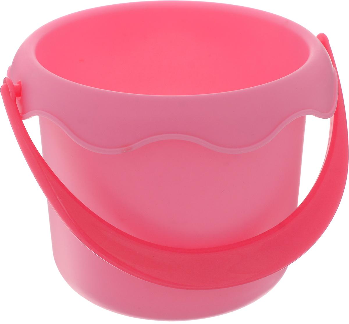 Baby Trend Игрушка для песочницы Ведро маленькое цвет розовый