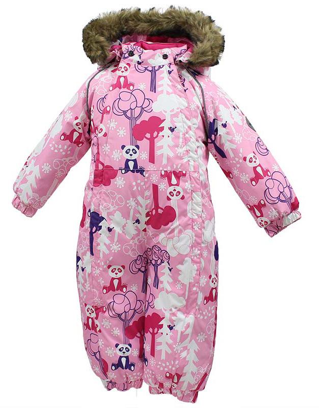 Комбинезон утепленный для девочки Huppa Keira, цвет: розовый. 31920030-73213. Размер 8031920030-73213Комбинезон утепленный детский Huppa Keira изготовлен из полиэстера. Комбинезон с капюшоном и воротником-стойкой застегивается на пластиковую молнию. Капюшон пристегивается к комбинезону при помощи кнопок. На рукавах имеются эластичные манжеты. Манжеты с отворотом у размеров 68-80. Комбинезон оснащен светоотражающими элементами для безопасности ребенка в темное время суток.
