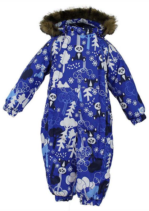 Комбинезон утепленный детский Huppa Keira, цвет: синий. 31920030-73235. Размер 9231920030-73235Комбинезон утепленный детский Huppa Keira изготовлен из полиэстера. Комбинезон с капюшоном и воротником-стойкой застегивается на пластиковую молнию. Капюшон пристегивается к комбинезону при помощи кнопок. На рукавах имеются эластичные манжеты. Манжеты с отворотом у размеров 68-80. Комбинезон оснащен светоотражающими элементами для безопасности ребенка в темное время суток.