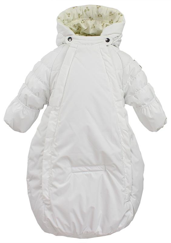 Спальный мешок для новорожденных Huppa Zippy, цвет: белый. 32130030-60020. Размер 6232130030-60020Спальный мешок для новорожденных Huppa Zippy выполнен из полиэстера. Модель дополнена регулируемым капюшоном. Манжеты рукавов с отворотом на резинке.