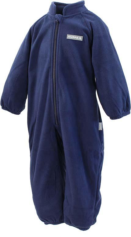 Комбинезон флисовый детский Huppa Roland, цвет: темно-синий. 3304BASE-00086. Размер 1043304BASE-00086Детский комбинезон Huppa Roland - очень удобный и практичный вид одежды для малышей. Комбинезон выполнен из флиса, благодаря чему он необычайно мягкий и приятный на ощупь, не раздражает нежную кожу ребенка и хорошо вентилируется. Комбинезон с длинными рукавами и воротником-стойкой застегивается на пластиковую молнию с защитой подбородка. Рукава и штанины дополнены эластичными резинками. Спереди модель дополнена небольшой нашивкой с названием бренда. С детским комбинезоном спинка и ножки вашего ребенка всегда будут в тепле.
